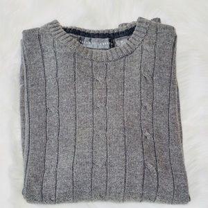 Oscar De La Renta Gray Sweater